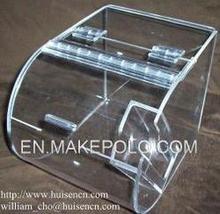 Clear novo design acrílico caixa distribuidora de doces fabricante