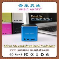 MUSIC ANGEL JH-MD06D MP4 speaker 2014 new fashion speaker www youtube com watch