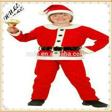 clothing/Santa suit/Luxurious and comfortable children red Santa suit