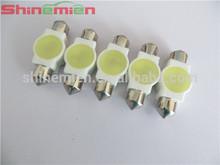 Auto Car Ceramic Shell 1W White SMD LED Festoon Dome Map Light 31mm