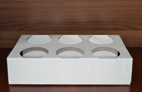 6 cups paper tray