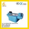 digital flatbed inkjet printer price / uv large format printing machine
