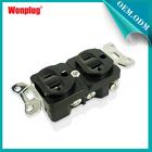 UL US 20A duplex receptacle/ NEMA 5-20 American duplex socket outlet CUL