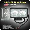 GoldRunhui RH-L0458 High quality 20w led work light for motorcycles Atv SUV