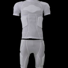 Padded Chest Top Body protection Armor for American football,Compression padded protection wear