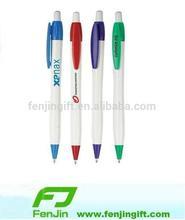 hot sale custom company logo plastic cheap ballpoint pen