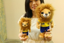OEM/wholesale plush/stuffed lion beige lion plush stuffed toys