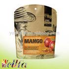 Matte Standing Dried Fruit Packaging Bag with Zipper & Tear Notch