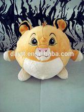 factory price baby lion toy velour soft plush lion