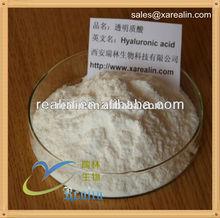 high quality food grade pure hyaluronic acid powder.hyaluronic acid