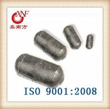 High chromium alloyed capsule balls Dia 90*125**90*47mm