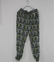 100% rayon leisure pants , woman clothes trousers