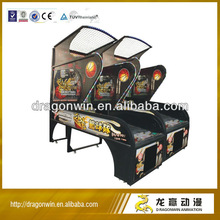 Hoop Fever Basketball Arcade Game sportcraft basketball , coin operated basketball game machine for children and aldult