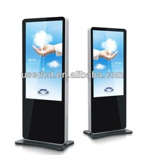 """55""""standing lcd advertising equipment,lcd advertising monitor,network lcd advertising display"""