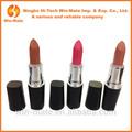 de alta calidad baratos de colores lápiz labial cosméticos paquete de la pluma del oem en fasion con contenedores estándar de la ue