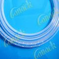 Ronda de silicona perforada drenajes silicona de grado médico, libre de látex