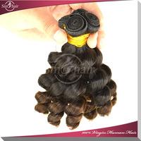 5A grade unprocessed remy romance curl virgin brazilian funmi hair