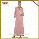 2014 latest baju kebaya muslim with silk fabric design