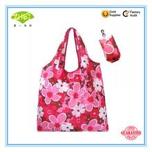 2014 Hot sale new style nylon foldable reusable shopping bag