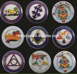 custom masonic car emblem; masonic items auto car emblems