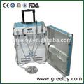 portátil unidad dental dental con ultrsonic limpiador de equipo dental veterinario