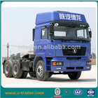 2014 new design 420hp 6x4 10-wheel Shacman tractor trailer head EURO 3 made in CHina