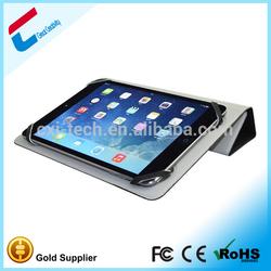 Universal 3 folding silicone Waterproof case for ipad mini