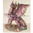 Hot sale 3D plastic cartoon action dragon figure,PVC Figure for kids