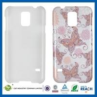 2014 new design custom sublimation for samsung galaxy s5 g9000 hard plastic case