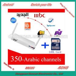 ARABIC /ENGLISH/ KURDISH BOX 800+ channels,JSC 1-8 SPORT HD.(NO MONTHLY FEE)