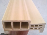 Cheap Price Unfinished WPC Door Casing QingDao Manufacturer