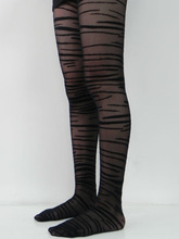 Factory supply tiger stripe tights pantyhose