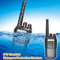De largo alcance 5w del transmisor-receptor de uhf de mano de radio silvercrest