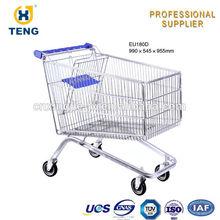 European Shopping Cart Foldable Shopping Bag Trolley