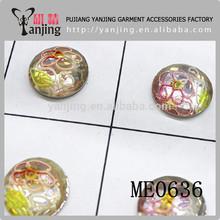 2014 wholesale Delicate flower epoxy resin jewelry