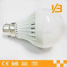 led bulb E27/B22 ABS Housing Aluminum