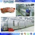 Filé de peixe máquina de congelação/industrial freezer blast/túnel flash freezer