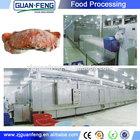 fish fillet freezing machine / industrial blast freezer / tunnel flash freezer