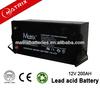 Solar Battery For Auto Solar Panel 12v 200AH