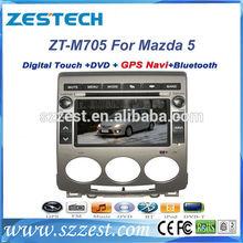 "ZESTECH radio gps dvd player audio 7"" car radio for Mazda 5 car radio gps dvd player 2 din"