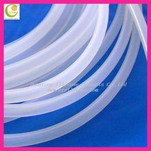 Eco friendly silicone sleeve silicone tube manufactory silicon tube led strip light