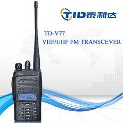 Td-v77 5w walkie talkie portable rugged configurations light