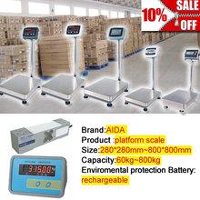 electronic weighting platform floor scale