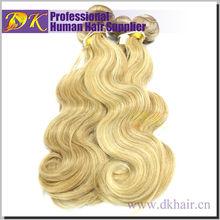 Premium Human Natural Virgin Weaving afro wave remy hair #27 30 613