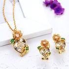 fashion rose gold plated dubai imitation jewelry