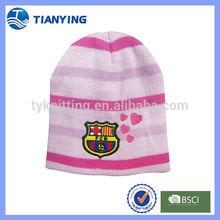 minion baby winter warm stripe knitted hats patterns