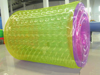 manufacture cheap water walking roller colorfull transparent water roller A7003