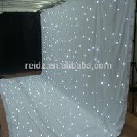 led decor curtain for wedding hall