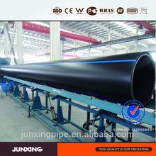 Grande diâmetro pead gasoduto para instalação em água do mar de admissão e emissário de sistema