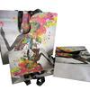customer printing art paper bag with foil hot stamp